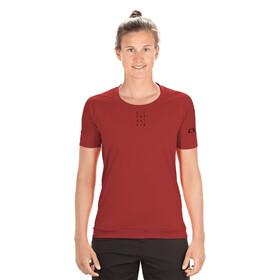 Cube AM Jersey T-shirt Ronde Hals Dames, dark red